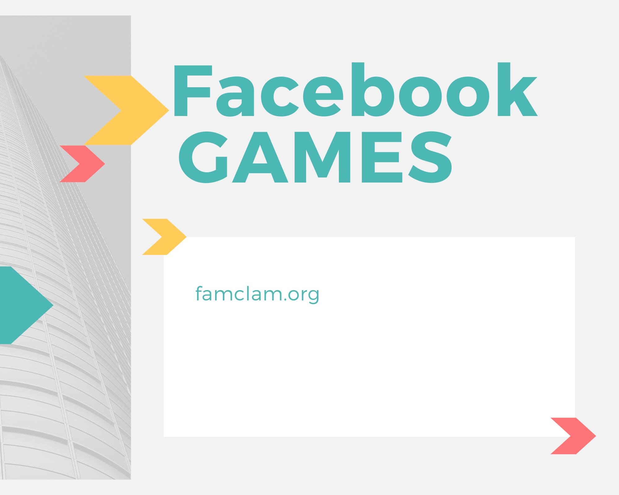 facebook games 2020